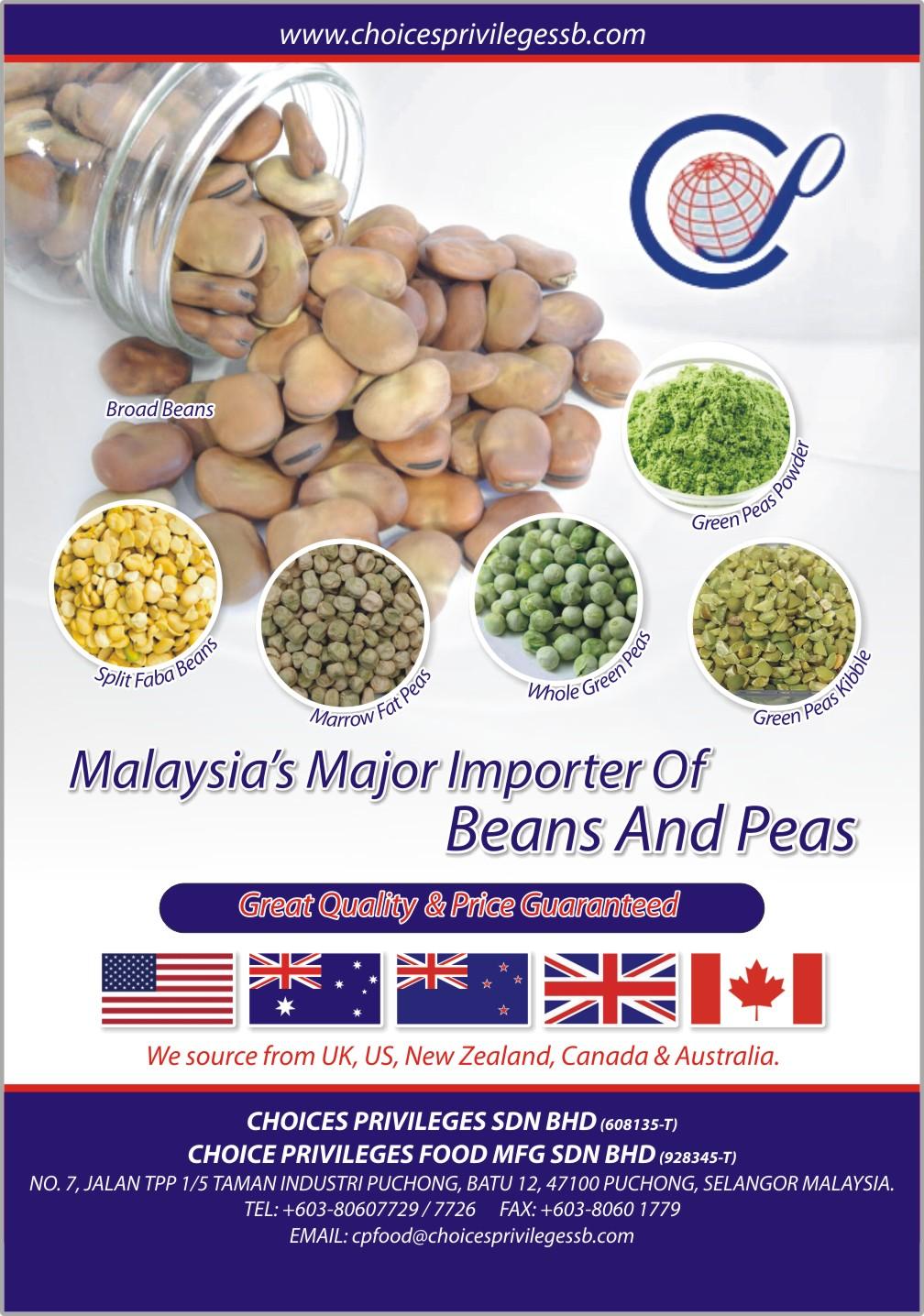 Peas & Beans Flyer