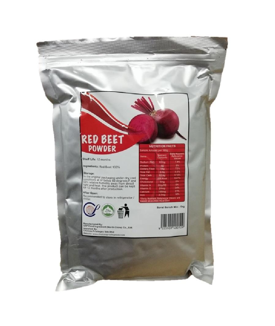 RED BEET POWDER (PKT)