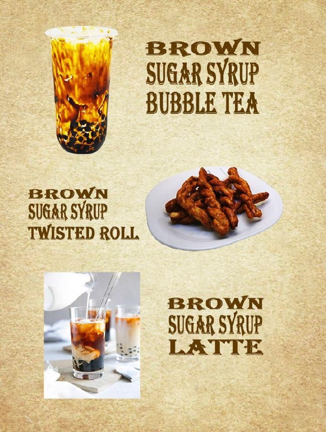 BROWN SUGAR SYRUP - APPLICATION 1